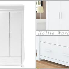 babystyle BabyStyle Hollie Fresh White Wardrobe