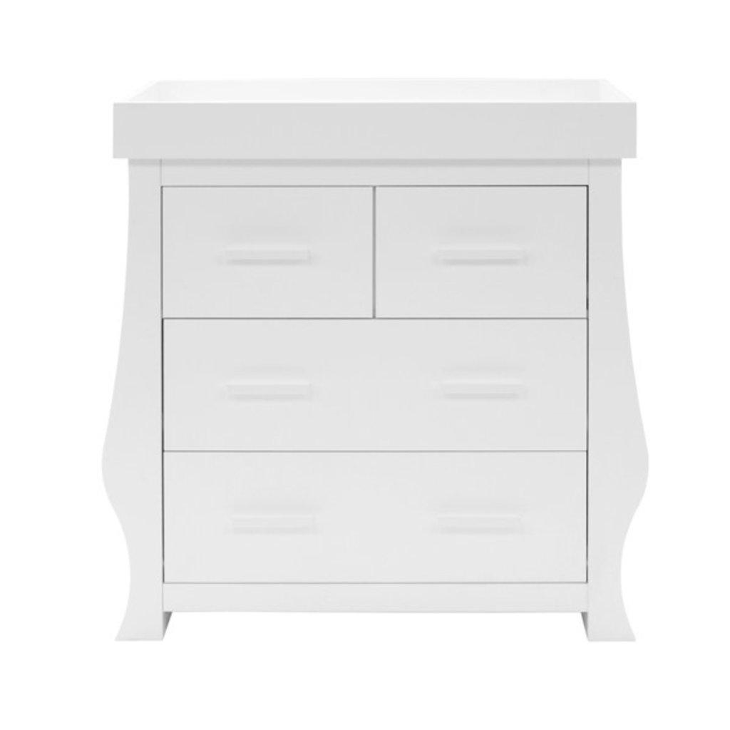 babystyle BabyStyle Hollie Fresh White Dresser And Changer