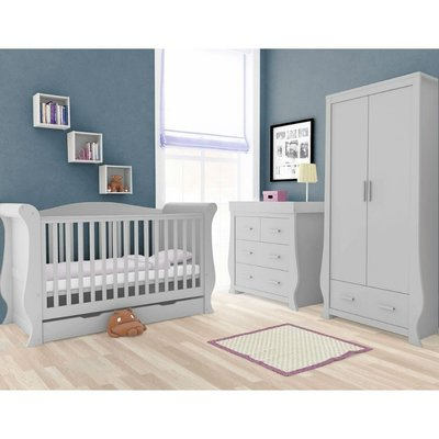 babystyle BabyStyle Hollie Grey 3 Piece Room Set