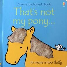 Usborne That's Not My Pony