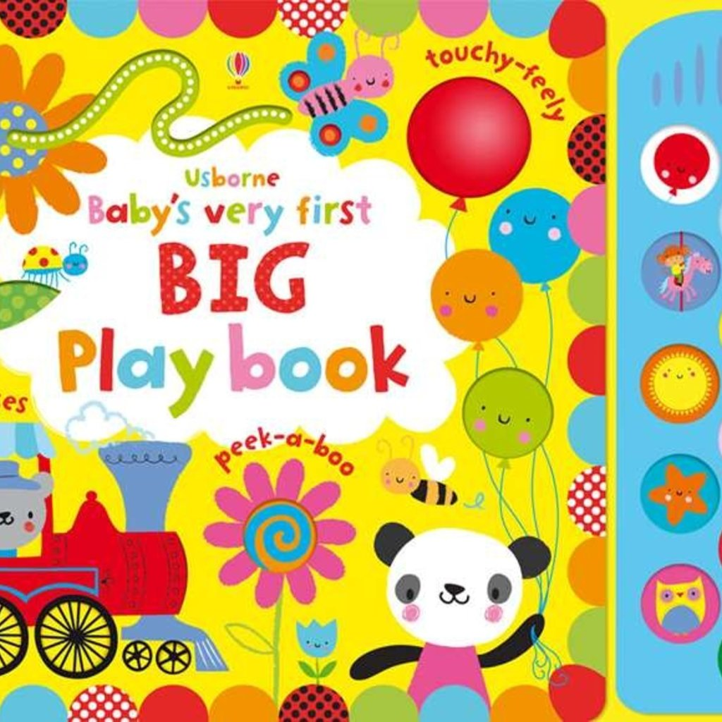 Usborne Baby's Very First Big Playbook