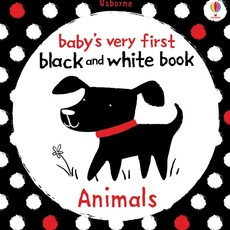 Usborne Baby's First Black and White Book Animals