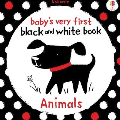 Usborne Baby's First Black and White Book Animals