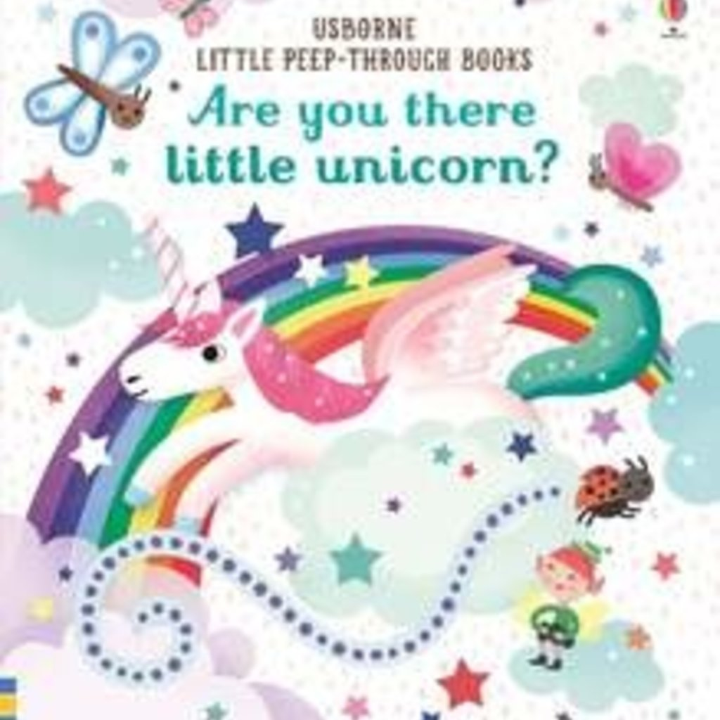 Usborne Are you there little Unicorn