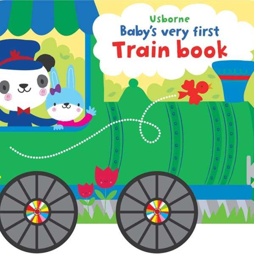 Usborne Baby's Very First Train Book