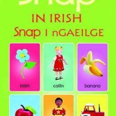 Usborne Snap Cards In Irish / As Gaeilge