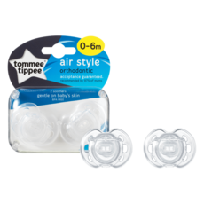Tommee Tippee Tommee Tippee Air Style Orthodontic Soother 0-6m