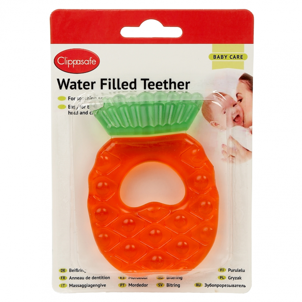 Clippasafe Teether Filled Pineapple