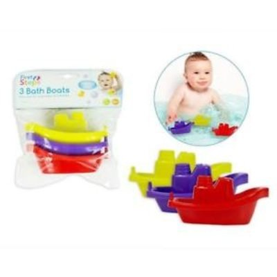 First Steps 3 Bath Boats