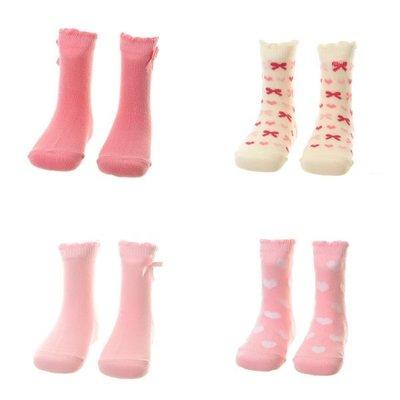 Ziggle socks 12-18 pink Hearts  and Bows