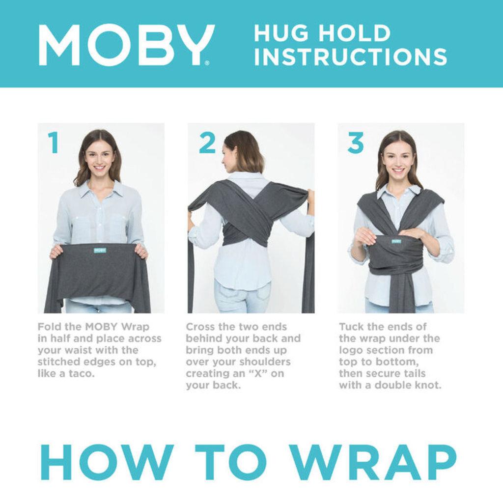 Moby Classic Wrap-Slate