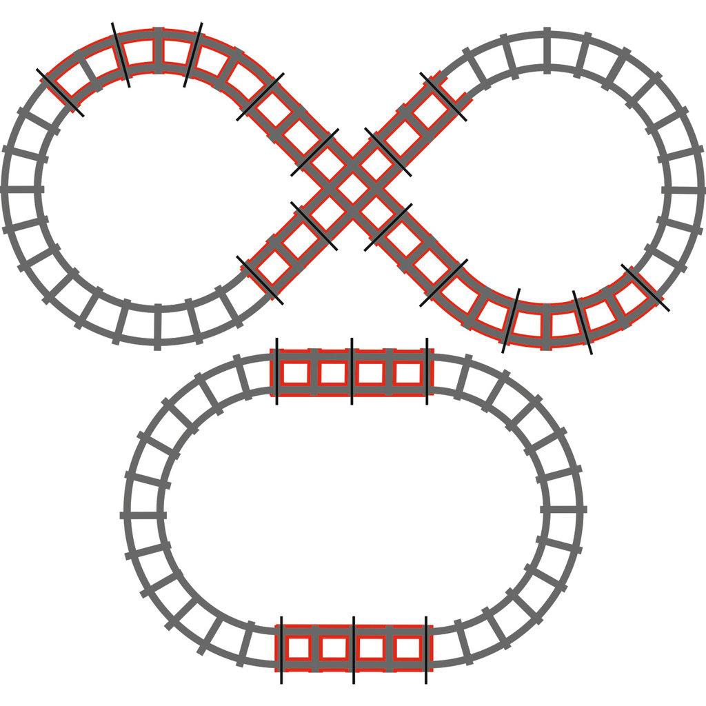 PegPerego Peg Perego Figure 8 Train Rail Road