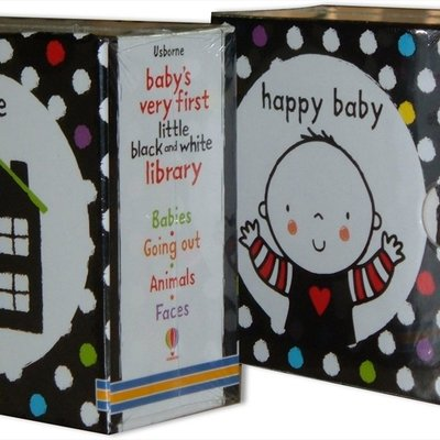 Usborne Baby's Very First Little Black and White Library
