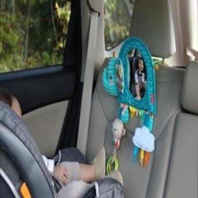 Infantino Infantino Go Gaga Elephant Activity Mirror