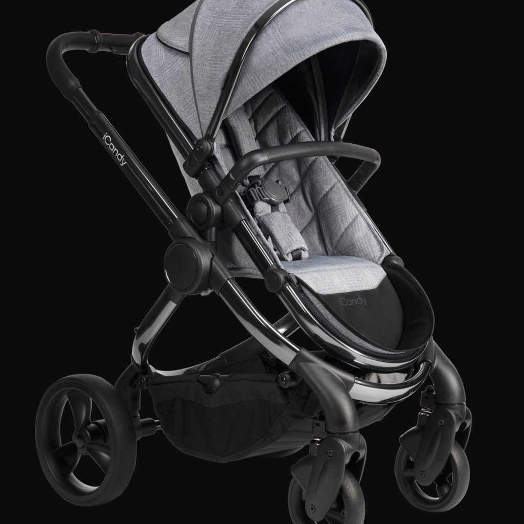 iCandy ICandy Peach Pushchair and Carrycot - Phantom Light Grey Check