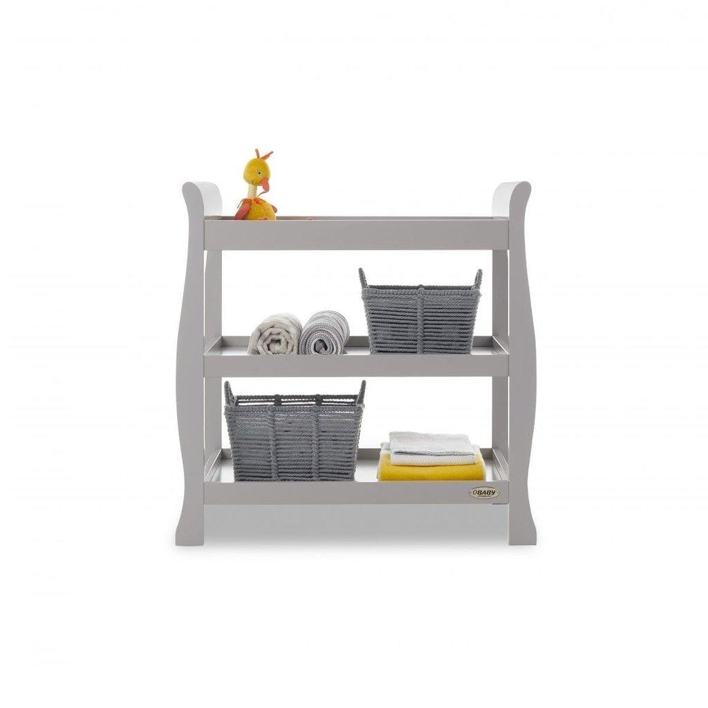 Obaby Obaby Stamford Space Saver 2 Piece Room Set - Warm Grey