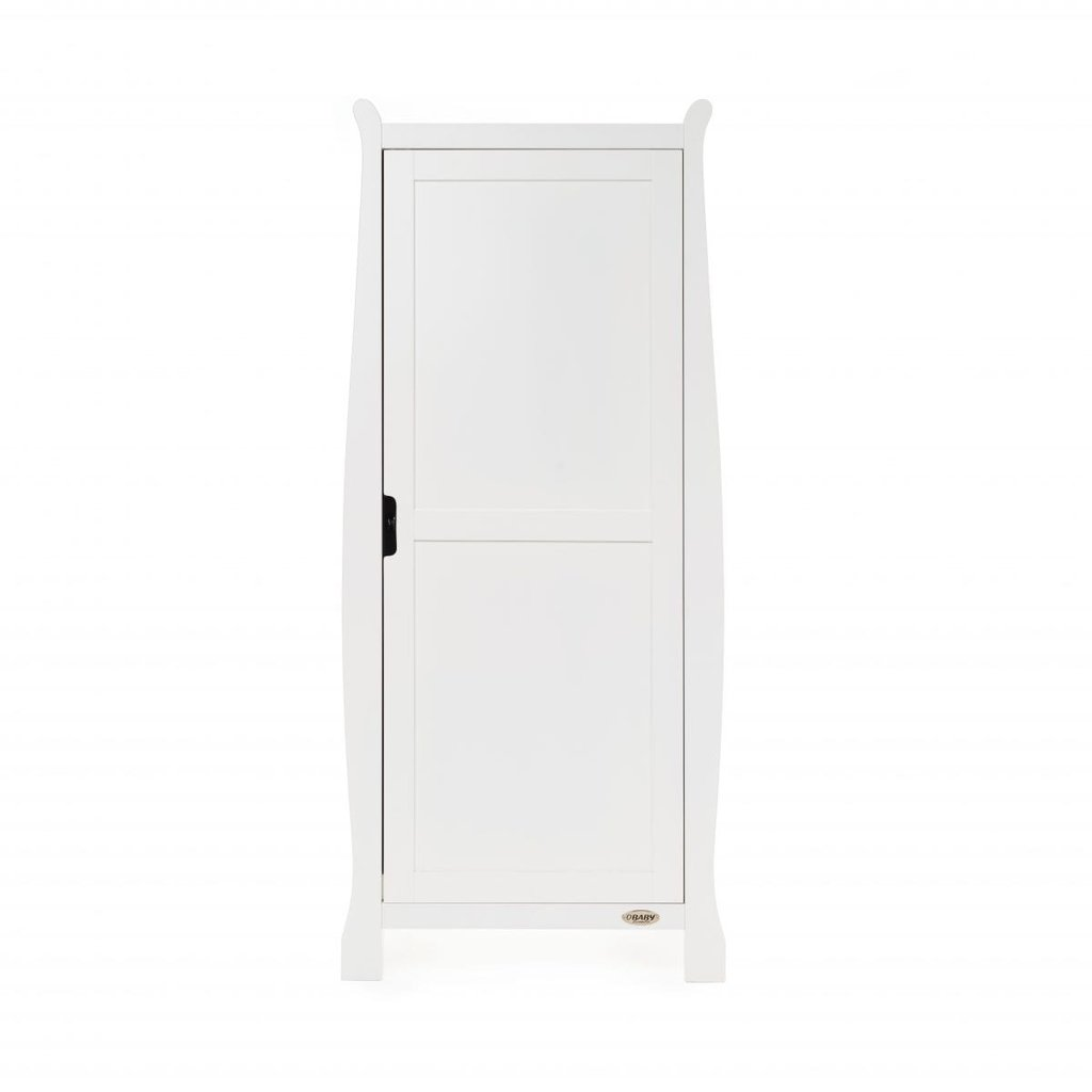Obaby Stamford Space Saver Sleigh 3 Piece Room Set – White
