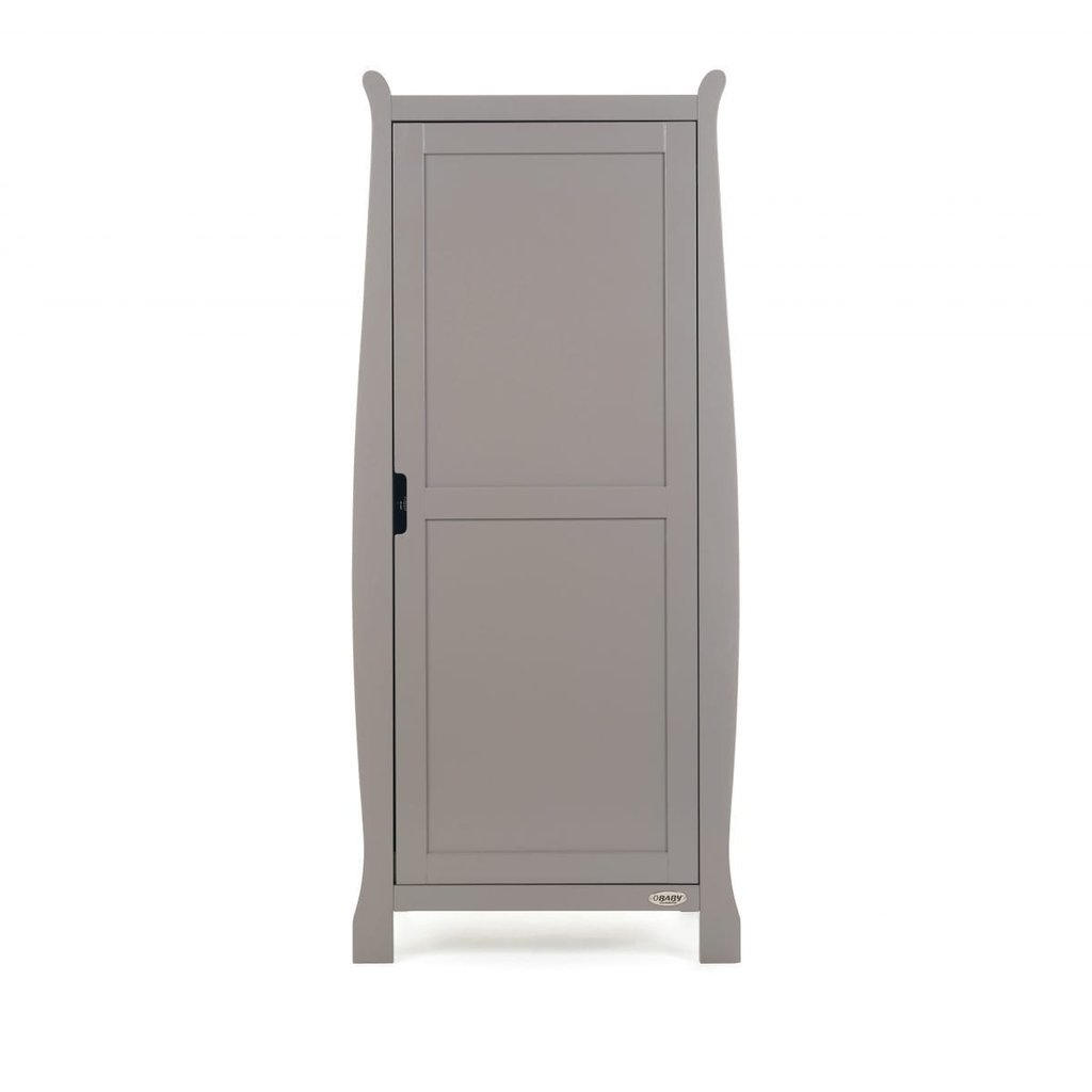 Obaby Stamford Space Saver Sleigh 3 Piece Room Set – Taupe Grey