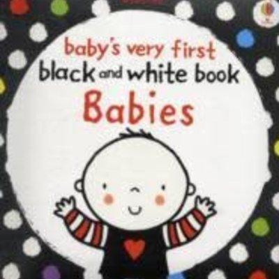 Usborne Usborne Baby's Very First B&W Book Babies