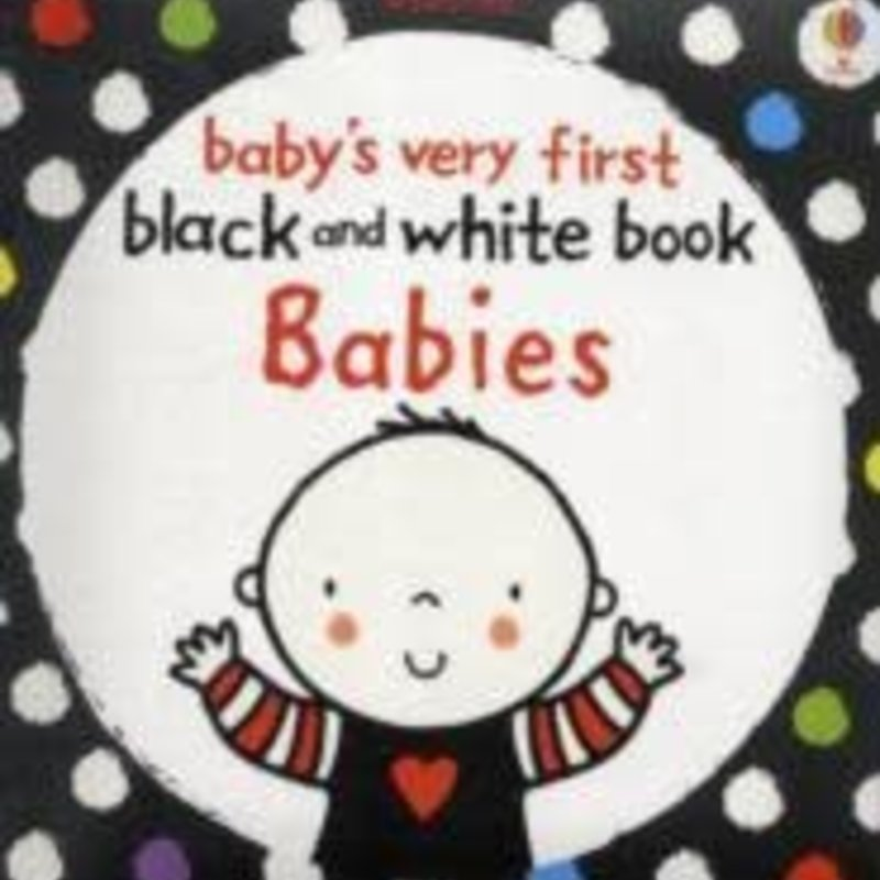 Usborne Usborne Baby's Very First Black And White Book Babies