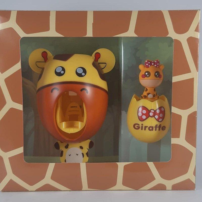 Smiley Eileey Giraffe Toothpaste Dispenser