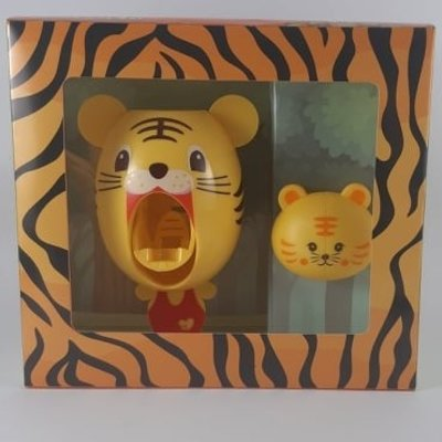 Smiley Eileey Tiger Toothpaste Dispenser