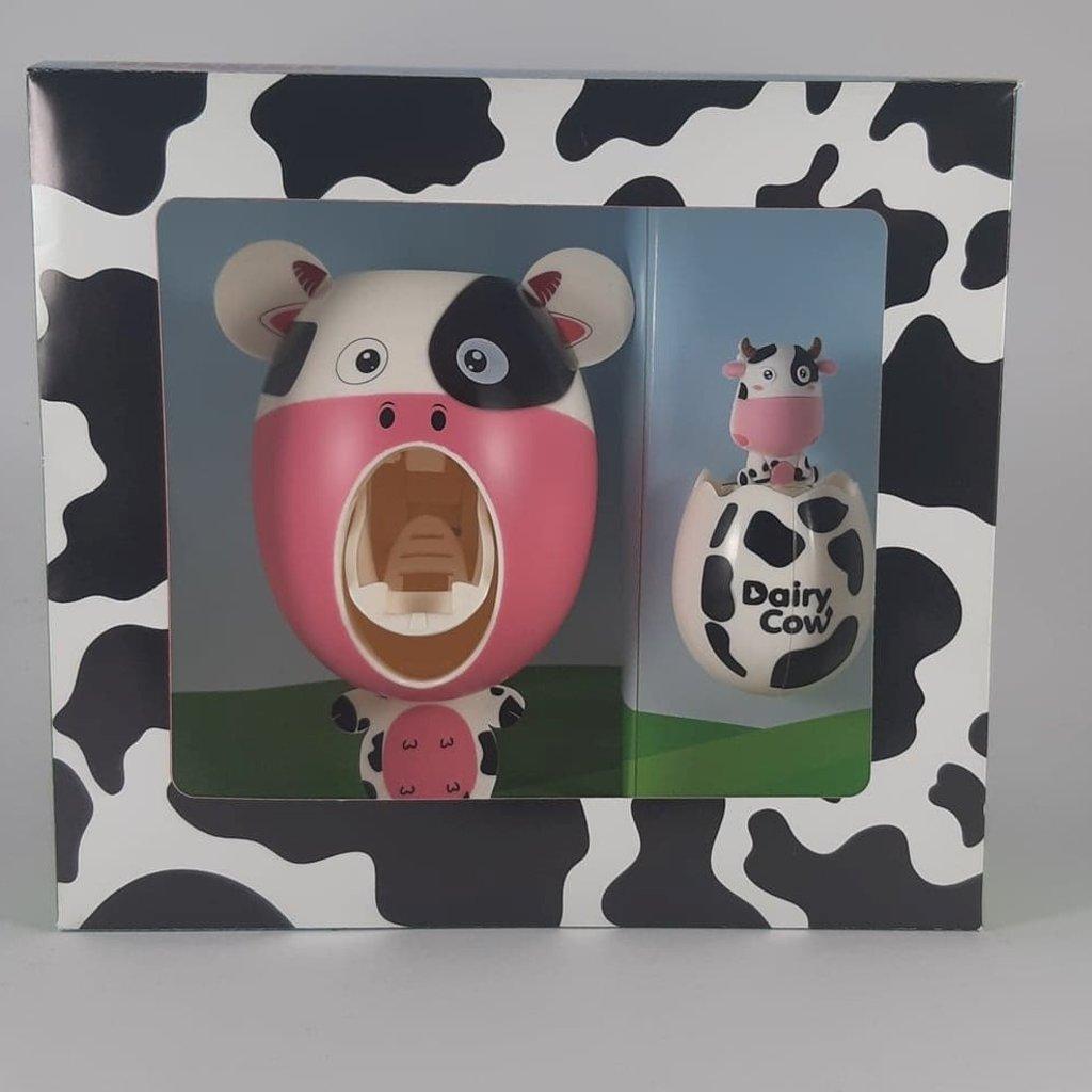 Smiley Eileey Cow Toothpaste Dispenser