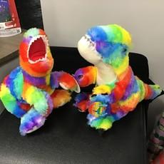 Plush Rainbow Dinosaur