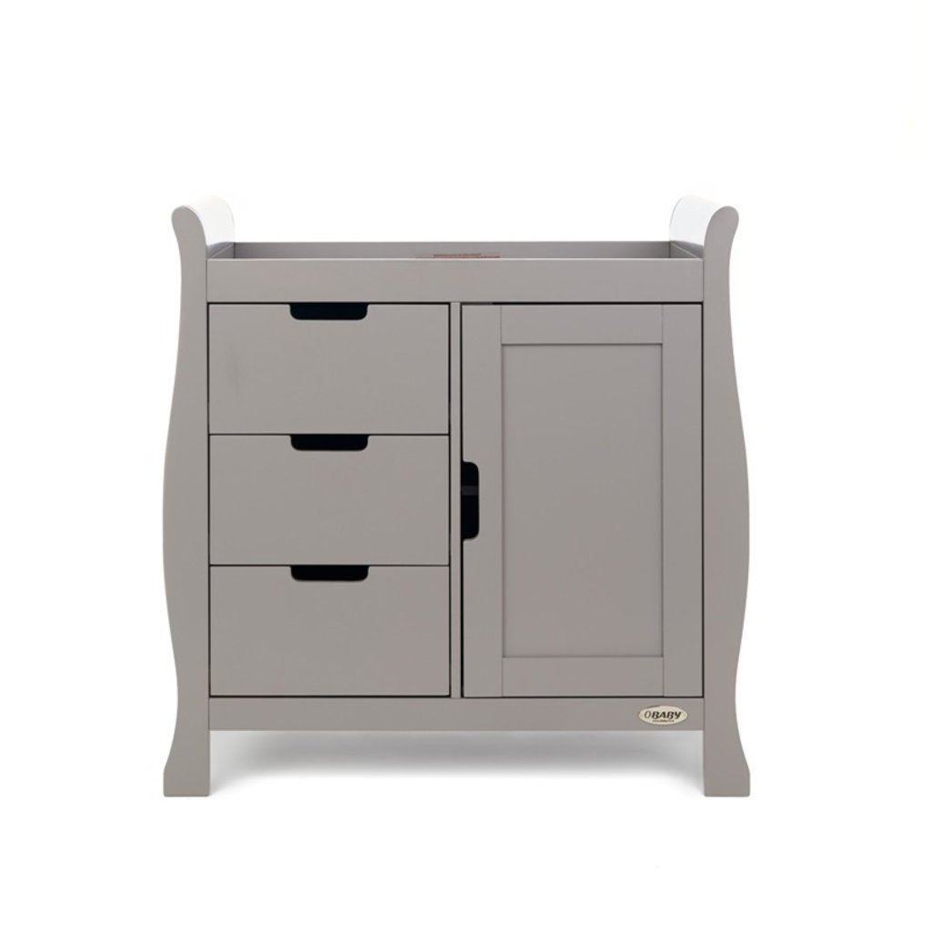 Obaby Obaby Stamford Closed Changing Unit - Taupe Grey