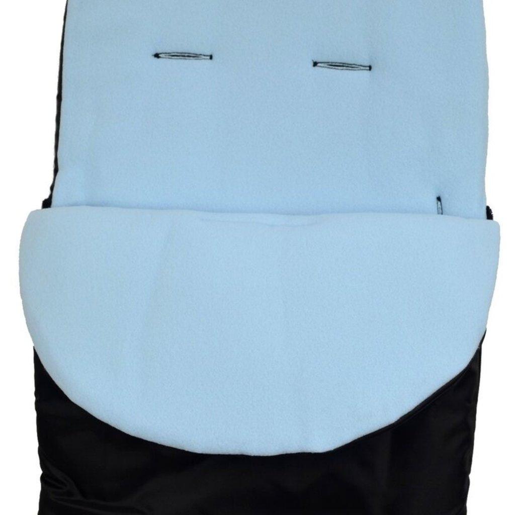 Br nursery Cuddles Fleece Footmuff Black/Blue