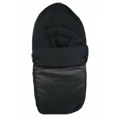 Br nursery Cuddles Fleece Footmuff Black