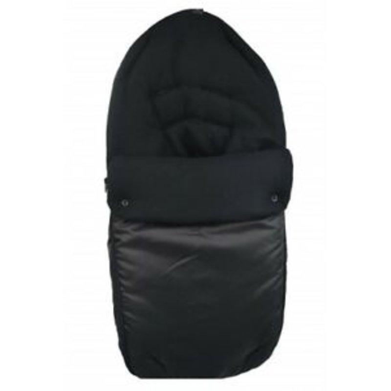Br nursery Cuddles Fleece Footmuff Black