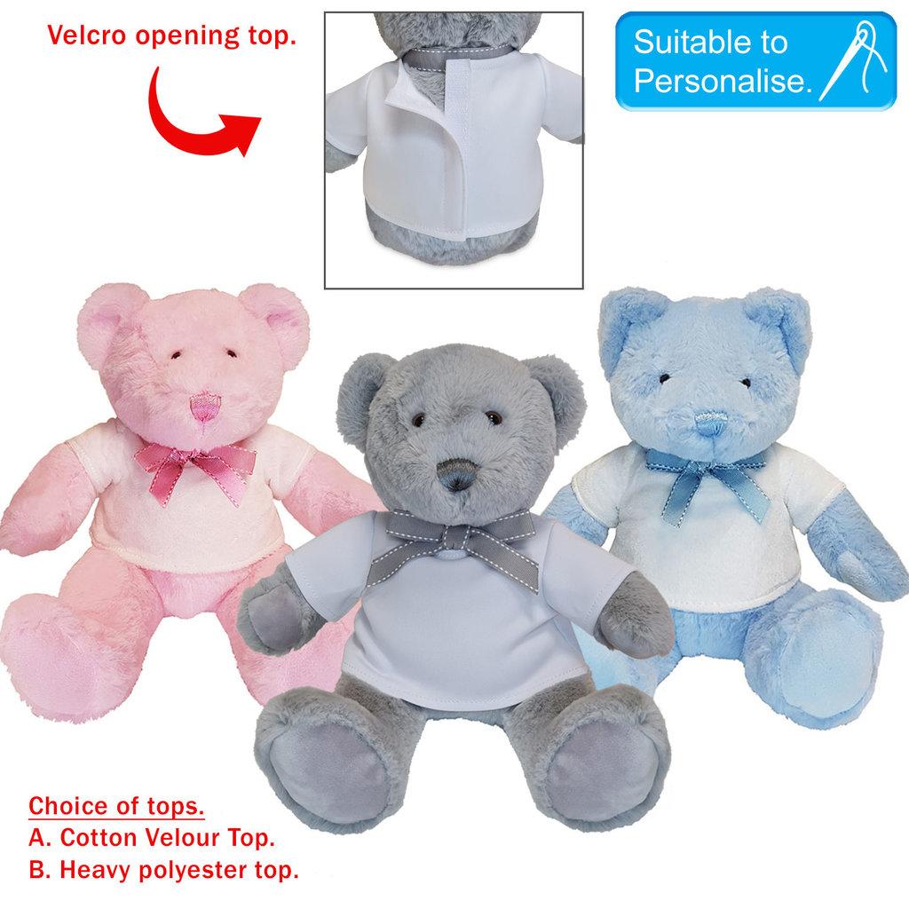 Soft Teddy - Blue