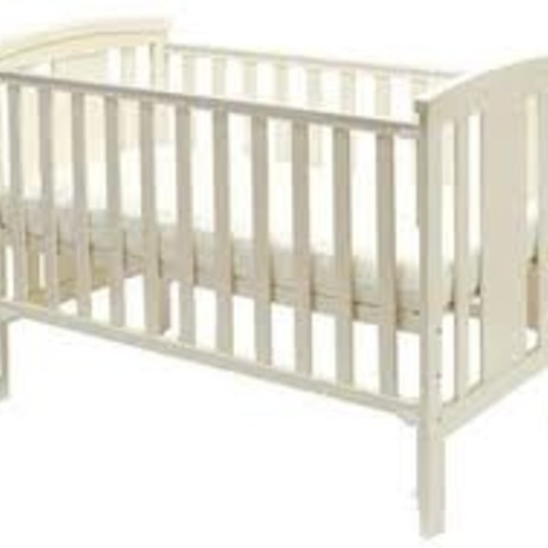 Brbaby Stockholm Cot Bed- White