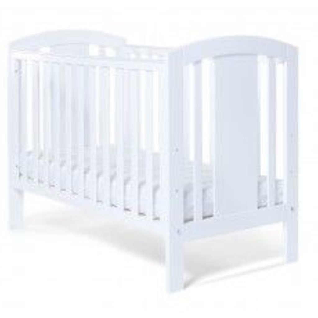 Baby Elegance Laba Cot- White