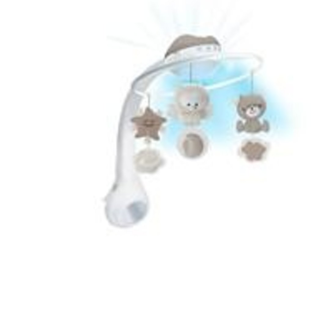 Infantino Infantino 3 in 1 Projector Musical Mobile Grey