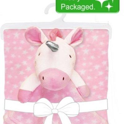 Baby.Baby Unicorn Blanket & Comforter Set