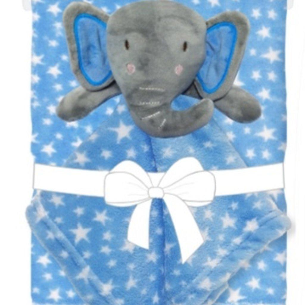 Baby.Baby Elephant Blanket & Comforter Set