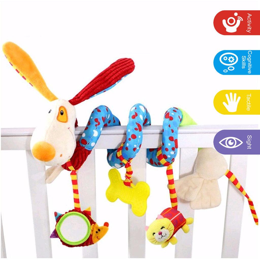Puppy Cot Winder Toy