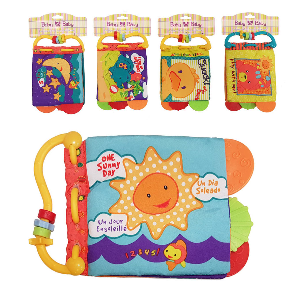 Crinkle Book Toy (Assorted)