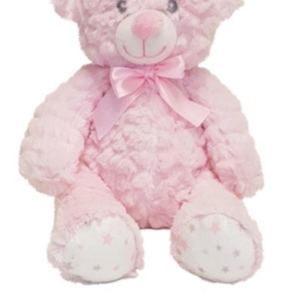 Baby.Baby Soft Pink Star Feet Teddy Bear