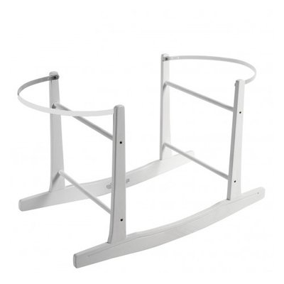 Brbaby Wooden Rocking Stand White