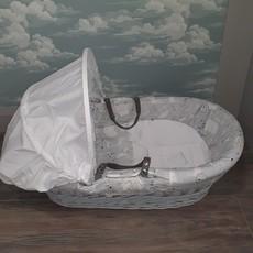 Cuddles Cuddles  Basket Leo & Friends Grey Moses