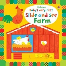 Usborne BVF Slide and See Farm