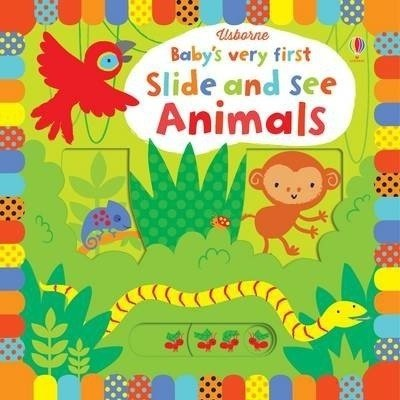 Usborne BVF Slide and See Animals