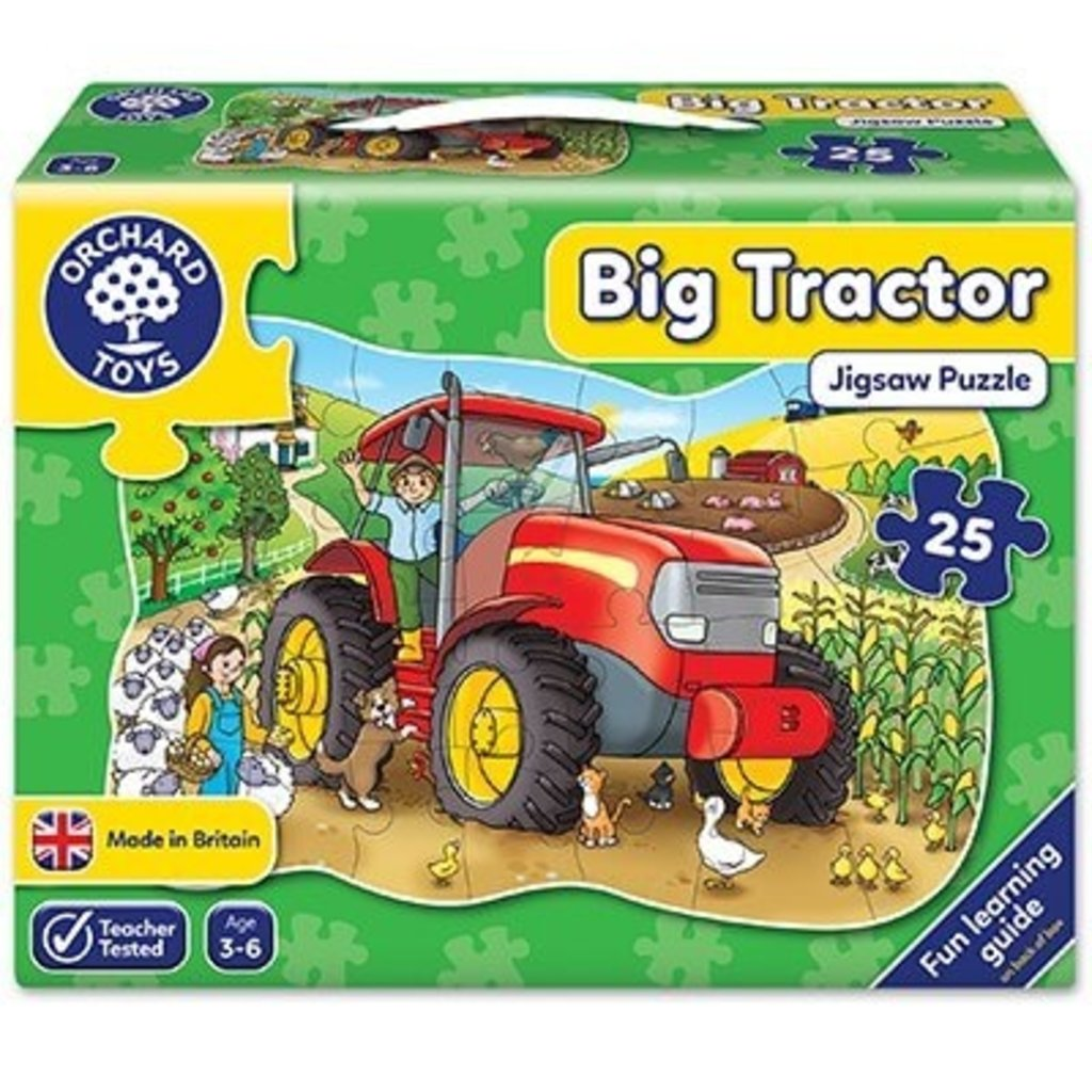 Orchard Orchard Toys Big Tractor Puzzle