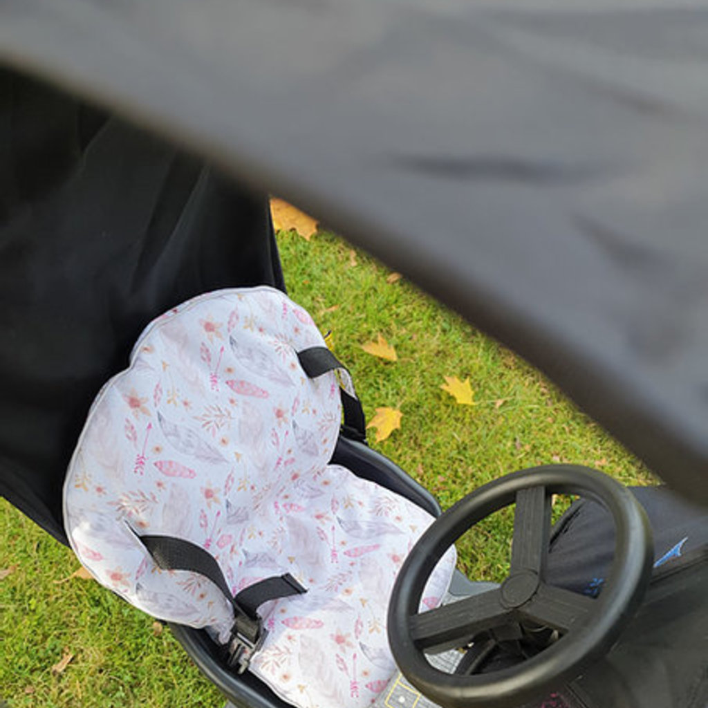 Allaboutthem Cozy Rider Buggy Board Raincover