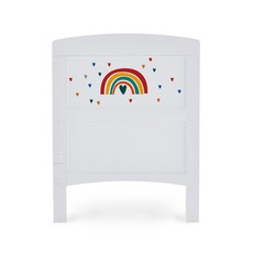 Obaby Grace Inspire Cot Bed- Rainbow Multicolour