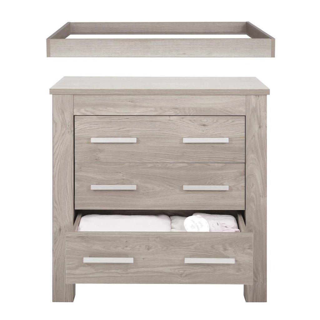 babystyle Babystyle Bordeaux Nursery Furniture Set (Ash) - 3 Piece