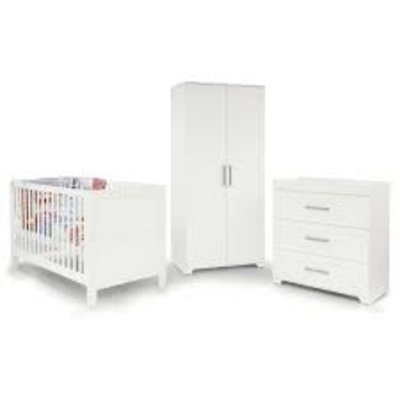babystyle Babystyle Monte Carlo 3 Piece Nursery Furniture Set